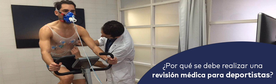 Check up para deportistas
